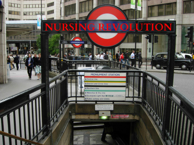 NURSING REVOL london